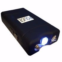 Lanterna Tatica Arma Choque Taser Aparelho Defensor 50.000kv