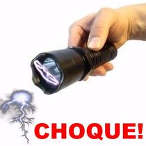 Lanterna Tática Taser Choque Ultrapotente Police + Garantia