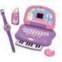 Notebook Xuxa Piano X + Rádio Fm + Relógio Digital - Candide