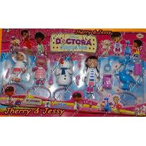 Doutora Brinquedos Kit Com 5 Bonecos Disney Desenho