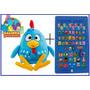 Tablet Infantil Educativo + Pelucia Galinha Pintadinha 45cm
