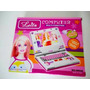 Laptop Notebook Infantil Brinquedo Musical Barbie Leila