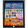 Tablet Ipadd Infantil Peppa Jorge Galinha Patati Brinquedo