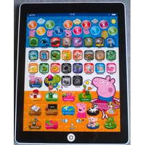 Mini Tablet Laptop Brinquedo Interativo Peppa Pig Educativo