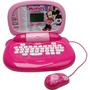 Laptop Diversão Minnie 30 Atividades Candide Lap Top Infanti