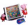 Tablet Infantil Peppa Pig + Capa Pelucia Chaveiro E Celular