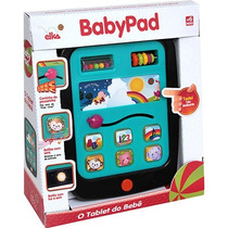 Babypad Elka Tablet Do Bebê Preto