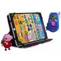 Tablet Educativo Infantil Peppa + Capa + Chaveiro + Celular
