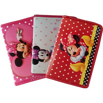 Tablet Infantil Interativo Educativo + Brinde + Capa Minnie