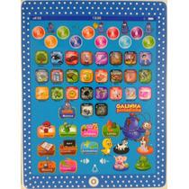 Tablet Ipad Educativo Inteligente Galinha Pintadinha Criança