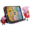 Tablet Peppa Pig Infantil + Capa Pelucia Chaveiro E Celular