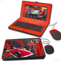 Hot Wheels Battle Force 5 Laptop Netbook Com 30 Atividades