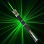 Caneta Laser Pointer Verde 10000mw +5 Ponteiras Alcance 10km