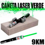 Caneta Laser Pointer Verde Lanterna 8000mw Até 9km %