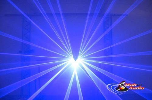 Laser Show L2830 Azul 600mw 2 Saídas 300+300 Pague Ao Receb