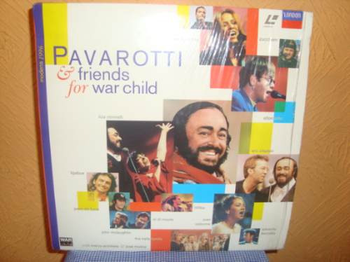 Laserdisc - Pavarotti & Friends For War Child