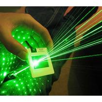 Super Laser Pointer Verde 5.000mw Até 10km Chave Segurança