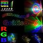 Laser Show Cni Dj 1000mw 1w Colorido Rgb Gráfico Animação Pc