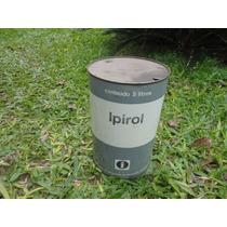 Lata Óleo Ipiranga Ipirol 5 Litros Antiga Texaco Shelll