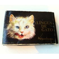 Caixa Lingua Gato Kopenhagen N Nestle Embalagem Antiga Rara