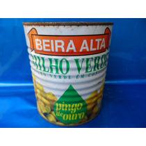 Lata De Milho Verde Pingo De Ouro Beira Alta 2001 Vazia #130