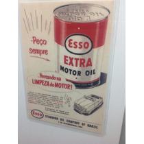 Imã De Geladeira Propaganda Da Esso Decada De 50
