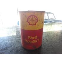 Lata De Óleo Antiga Shell