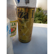 Lata Antiga De Oleo Liza Antiguidade P/colecionador