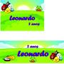 Kit 40 Adesivos Personalizados Festa Infantil