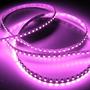 Barra Led Neon Flexível 60 Leds Rosa Bebê Alto Brilho 12v