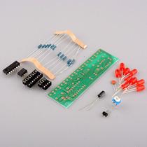 Kit Eletronico Luz Sequencial 10 Leds Cd4017 Ne555 Frete $10