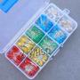 Kit Com 300 Leds Cores Diversas Com Case Hobby Luz C96