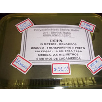 Espaguete Termoretratil Coloridos - 15 Metros - R$ 31,31
