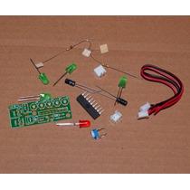 Kit Montagem Eletrônica Vu Led Bargraph Audio Level Frete $8