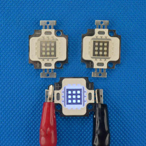 Kit 10 Peças Super Power Led 10w - Azul Royal - 450-455nm