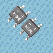 Ponte Retificadora Mb6s 600v/0,5a Baixa Potência 20 Pçs