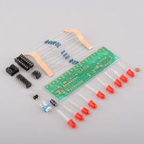 Kit Montagem Eletronica Sequencial 10 Leds Ne555 Frete $10