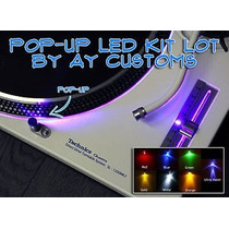 Kit Led Para 2 Tocadiscos Technics Mk2 -par