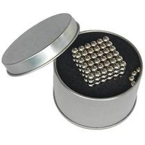 Cubo Magnético Neocube 216+4 Esferas Magnéticas 5mm Lata Grá