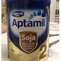 Leite Aptamil Soja 2 800gramas