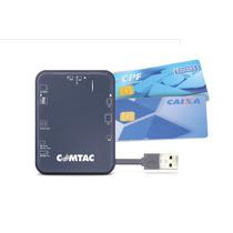 Leitor De Cartao Smart Card E-cpf E-cnpj E Nota Fiscal - Usb