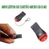 Mini Leitor De Cartão M2 Vira Pen Drive Oferta Frete Gratis