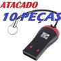 10 Mini Leitor Adaptador Usb Cartão Memoria M2 Sd Confira Já