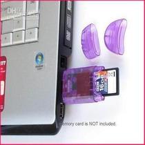 Leitor Gravador Cartão Memória Sd/mmc Usb 2.0 Por 3,90 Reais