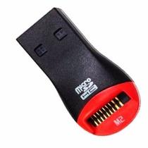 Leitor Gravador Usb Cartão De Memória Micro Sd M2 Pen Drive