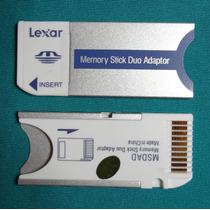 Adaptador Ms Pro Duo P/ Memory Stick Sony Duo 2gb 4gb 16gb