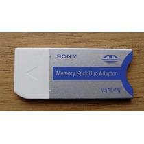 Adaptador Memory Stick Duo Sony 2gb 4gb 16gb
