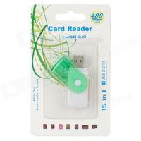 Adaptador De Cartão De Mémoria - Card Reader Usb 2.0