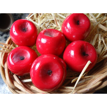 Sabonete Artesanal Mini Maçã Vermelha