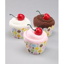 15 Cupcake Feitos De Toalha Para Lembrancinhas